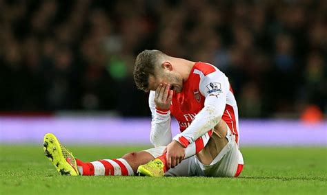 arsenal injury jack wilshere out for three months as ars 232 ne wenger s