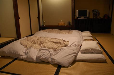 Japanese Futon Beds by Adventures Exploring Kyushu Suginoi Hotel