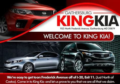 Kia Dealer In Md King Kia Gaithersburg Md 20879 Car Dealership And Auto