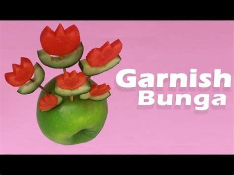 Nature Stek Dewo cara membuat garnish dari sayuran dan buah