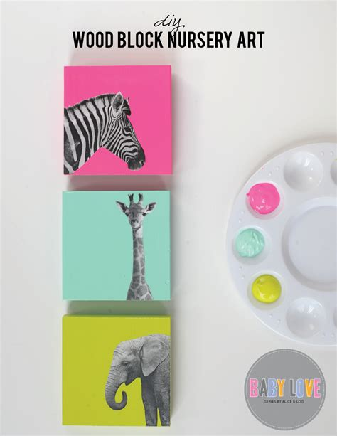 diy nursery decor 40 sweet and diy nursery decor design ideas