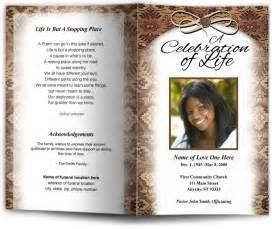 obituary programs templates ethnic native african american