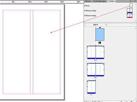 Indesign Vorlage Bearbeiten indesign musterseite musterseite erstellen musterseite