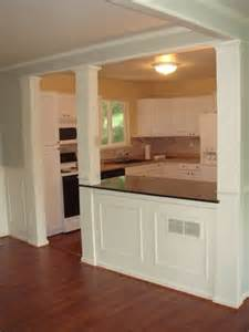 kitchen half wall ideas 25 best ideas about half wall kitchen on half