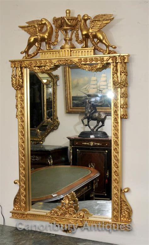 tischuhr französisch gilt pier spiegel canonbury antiquit 228 ten london