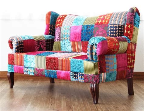 Patchwork Furniture - 12 outrageous patchwork furniture the sewing loft