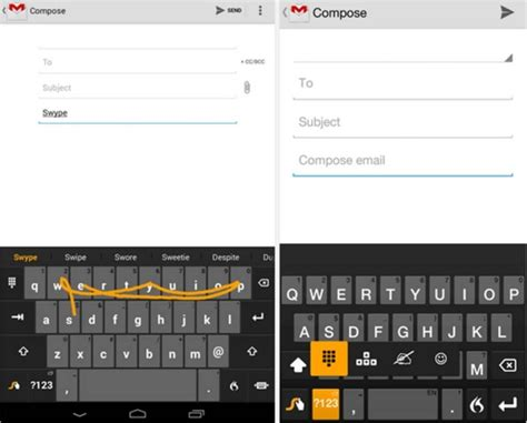android swype keyboard come rimuovere swype keyboard da android