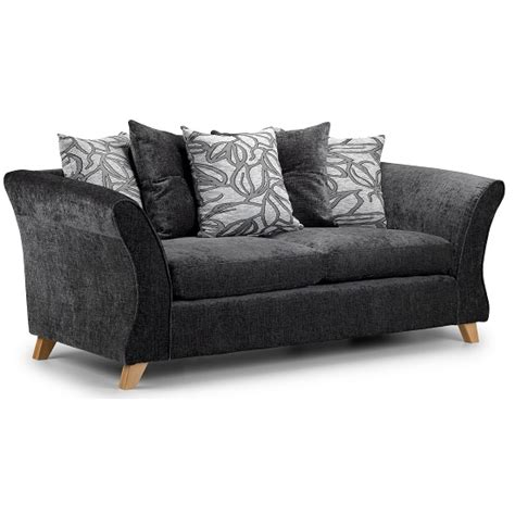 grey sofa with wooden legs nelson 3 seater sofa in grey fabric with wooden legs 3