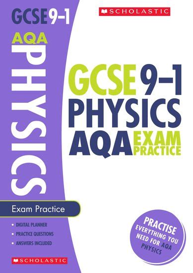 libro grade 9 1 gcse english gcse grades 9 1 physics aqa exam practice book x 30 scholastic shop
