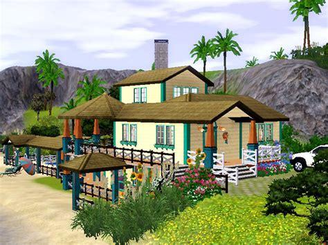 sims 3 beach house mod the sims sunny beach house base game only