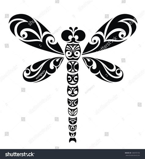 wyatt design group website design dragonfly design group dragonfly tattoo design stock vector illustration