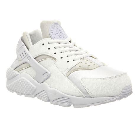 Nike Air White nike air huarache white unisex sports