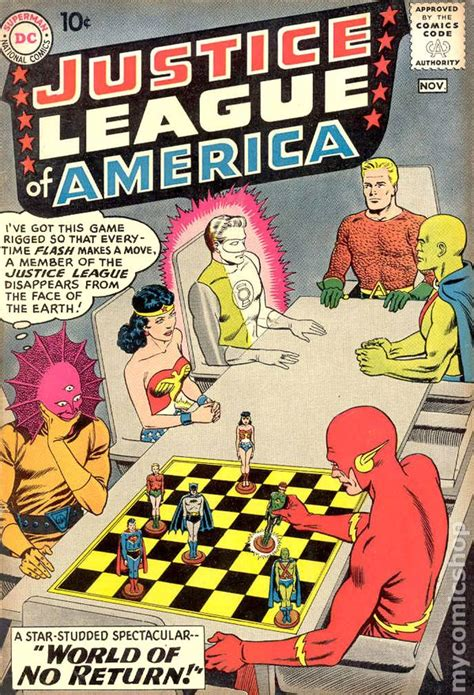 justice league of america 1960 1st series comic books