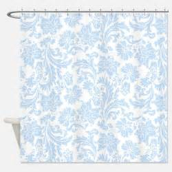 light blue shower curtains light blue fabric shower
