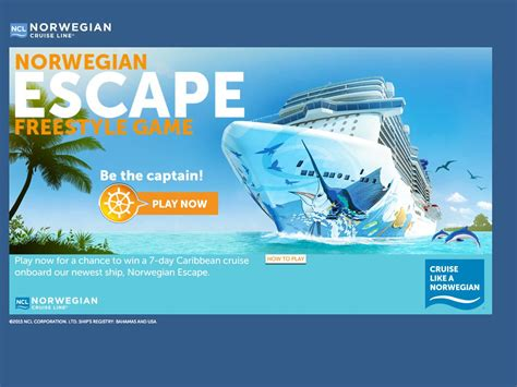 Video Game Sweepstakes - norwegian s escape game sweepstakes