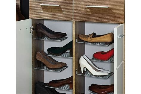 Meuble rangement chaussures 2 portes et 2 tiroirs
