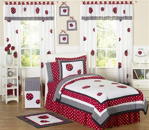 ladybug bedroom ideas polka dot ladybug childrens bedding 3 pc full queen