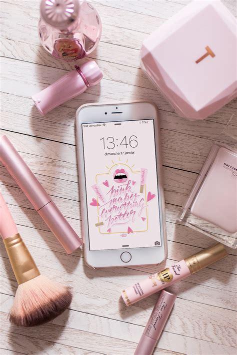 Wallpapers T L Phones Pink Natacha Birds Avec Fond D Ecran