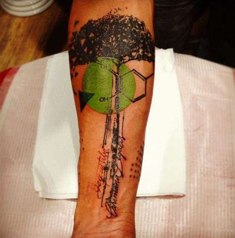 tattoo lettering photoshop photoshop style colored forearm tattoo of big tree with