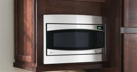 a wall built in microwave cabinet keeps counter clear and homecrest microwave cabinet keep counters clear with a