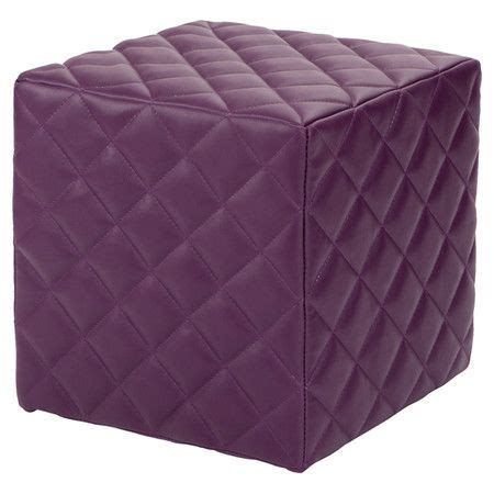 quilted ottoman cubic ottoman with quilted upholstery and a hardwood frame