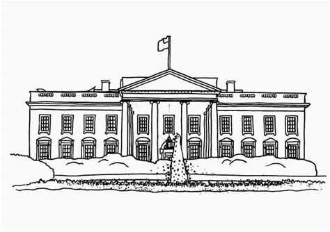 white house printing white house printing 28 images coloring page niagara
