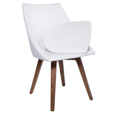 White Dining Chair Cushions Calla White Modern Dining Chair Eurway Furniture