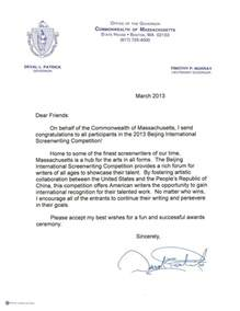 Promotion Letter Hotel Congratulation Letters From Massachusetts Senator Warren