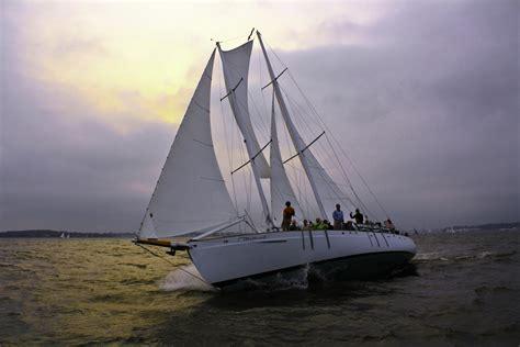 chesapeake bay boat tours annapolis sailing cruises around the chesapeake bay aboard