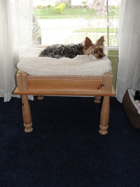dog bed made from end table pin by karen bridges on for our yorkie pinterest