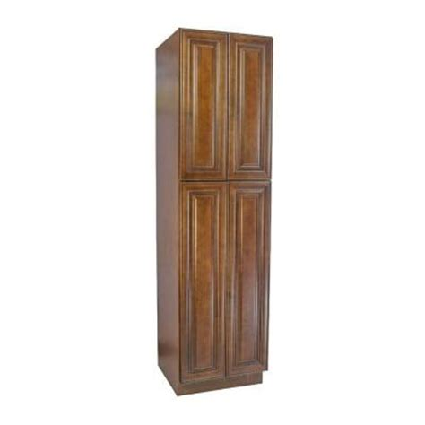 Utility Wall Cabinets by Lakewood Cabinets 24x84x24 In All Wood Wall Utility