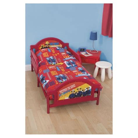 Tesco Nursery Bedding Sets Buy Fireman Sam Junior Bed Bedding Set From Our Baby Bedding Range Tesco