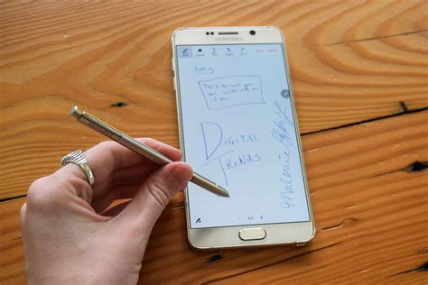 samsung galaxy digital review samsung galaxy note 5 review digital trends