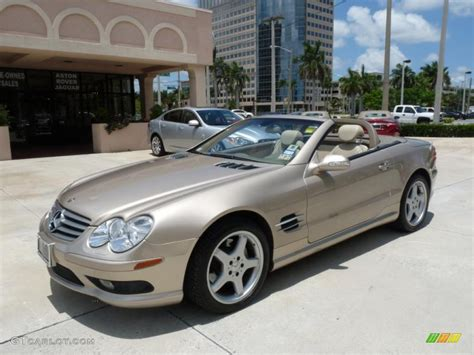 2003 desert silver metallic mercedes sl 500 roadster 30367475 gtcarlot car color