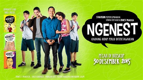 nonton film comedy indonesia ngenest official trailer youtube