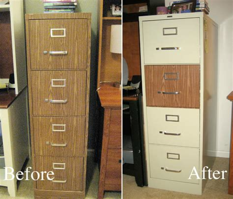 contact paper file cabinet home makeover ideas 25 diy projects to update your home