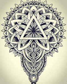 oriental geometric tattoo tattoo dotwork geometric mandala pattern