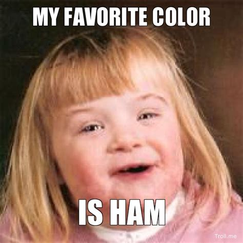 Ham Meme - image my favorite color is ham jpg animal boyfriend