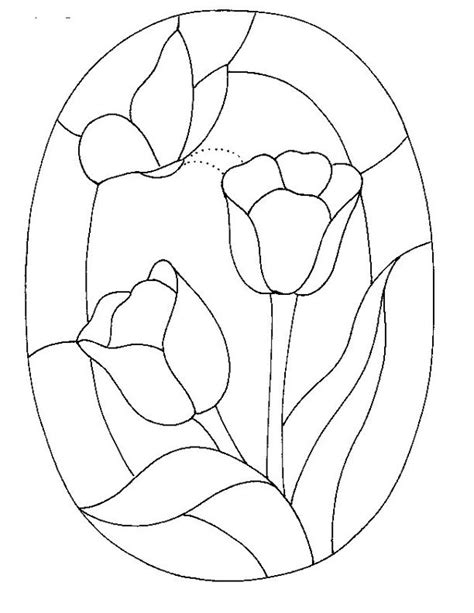 glass templates free printable stained glass patterns glass pattern 165