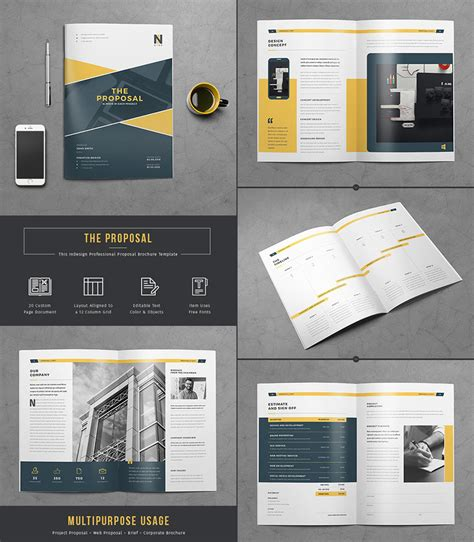 proposal layout design templates 15 best business proposal templates for new client projects