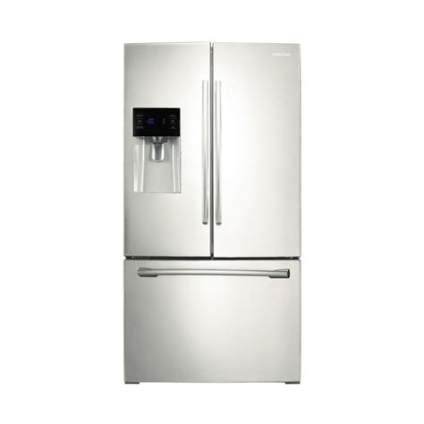 lowes samsung door refrigerator shop samsung 25 6 cu ft door refrigerator with dual