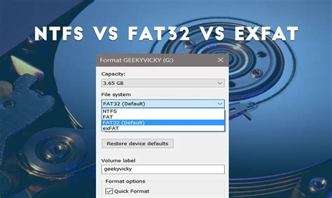 difference between exfat and fat32 difference between what is the difference between ntfs fat32 and exfat file