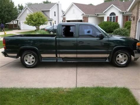 find used 2003 gmc sierra 1500 sl extended cab pickup 4 door 4 8l in huntington beach find used 2001 gmc sierra sl extended cab in valparaiso indiana united states