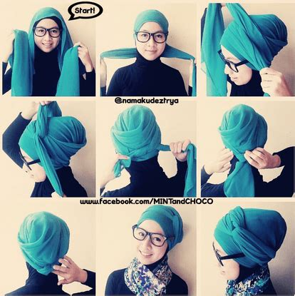 tutorial hijab segi empat buat hang out 10 gaya hijab segi empat yang beda buat pipi chubby