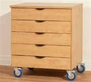 wood storage cabinet with drawers ca352 deluxe wood heavy duty mobile multi drawer storage