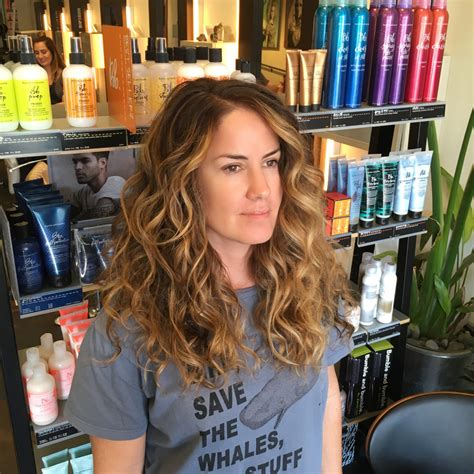 thick naturally curly air salon in san diego painted beach waves before and after andrea lefevre