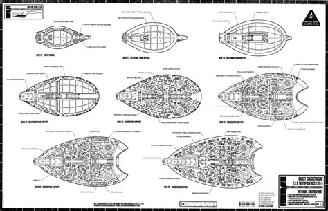 uss enterprise floor plan star trek the next generation enterprise sheet 11 jpg