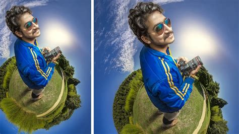 photoshop cs5 tutorial tiny planet effect photoshop cc 360 tiny planet manipulation photo effects