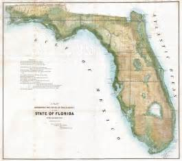 file 1848 land survey map of florida geographicus