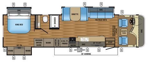 jayco floor plans 2017 precept class a motorhome floorplans prices jayco